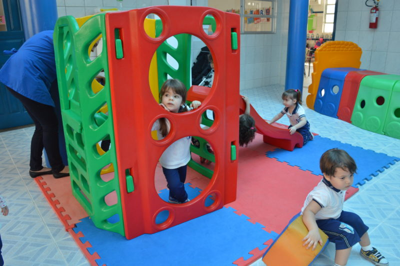 Área exclusiva da educação infantil
